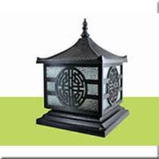 Đèn Trụ Cổng HP1 HF-015B 300x300xH350