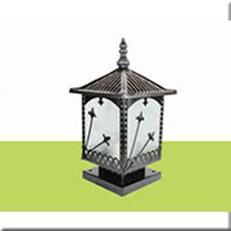 Đèn Trụ Cổng HP1 HF 115 200x200xH300
