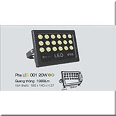 Đèn Pha Led ANFACO PHA LED 001 20W