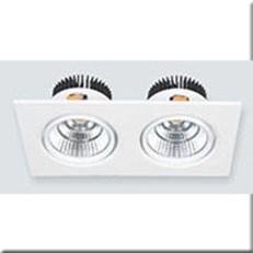 Đèn LED Âm Trần ANFACO AFC 318/2 12W x2