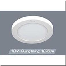 Đèn LED Gắn Nổi ANFACO AFC 555 12W Ø180
