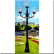 Đèn Trụ Sân Vườn CT CT-TRU 47 H3000