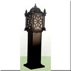 Đèn Trụ Sân Vườn CT CT-6267 250xH1000, đế 250