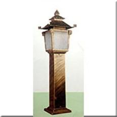 Đèn Trụ Sân Vườn CT CT-6266 300xH1000, đế 200