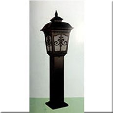 Đèn Trụ Sân Vườn CT CT-6261 280xH1000, đế 200