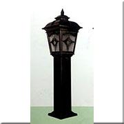 Đèn Trụ Sân Vườn CT CT-6263 280xH1000, đế 200