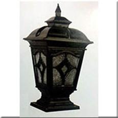 Đèn Trụ Cổng CT CT-6231 330xH650, đế 250