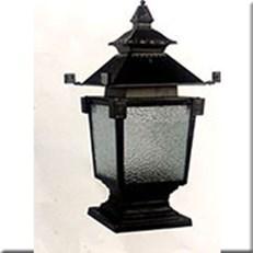 Đèn Trụ Cổng CT CT-6227 400xH730, đế 260