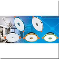 Đèn Âm Trần Viền Màu COB MDL MD A-029 15+5W