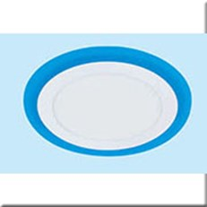 Đèn Âm Trần Viền Xanh Dương MDL MD A-024 12+4W