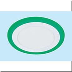 Đèn Âm Trần Viền Xanh Lá MDL MD A-025 12+4W