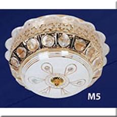 Đèn Mâm Nổi Đổi Màu MDL M5 Ø300