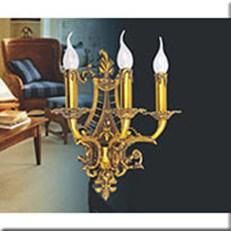 Đèn Tường Nến Đồng VIR YD013/3 380xH410