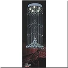 Đèn Thả Pha Lê VIR 9888 Ø400xH980