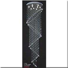 Đèn Thả Pha Lê Thông Tầng VIR 9913 Ø600xH2000