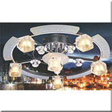 Đèn Chùm kiểu Ý VIR G052/6 Ø600xH225