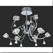 Đèn Chùm kiểu Ý VIR P8133/6+3 Ø650xH550