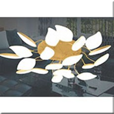 Đèn Trần Nghệ Thuật VIR MX2691/20 Ø900xH205