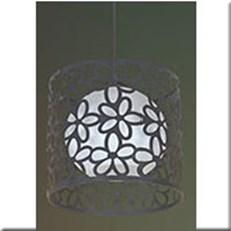 Đèn Thả Thủy Tinh VIR 6111/1B Ø250xH250