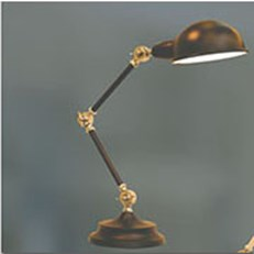 Đèn Bàn Trang Trí VIR 1004B Ø160xH540