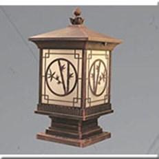 Đèn Trụ Cổng VIR VROG2013 Ø240x240xH500