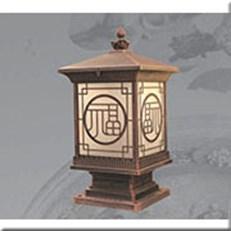 Đèn Trụ Cổng VIR VROG2014 Ø240x240xH500