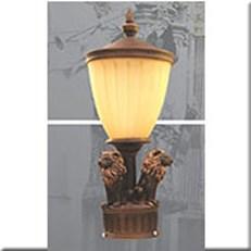 Đèn Trụ Cổng VIR VROG1102 Ø230xH600