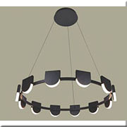 Đèn Thả LED BMC TL-P17803/12A-63W BK Ø870xH1200
