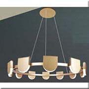 Đèn Thả LED BMC TL-P17803/12A-63W GD Ø870xH1200