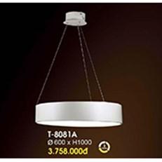 Đèn Thả Bàn Ăn VE3 T-8081A Ø600xH1000