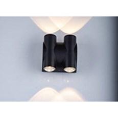 Đèn Vách Ngoại Thất BMC1 VL-8088/4-BK L85xH110