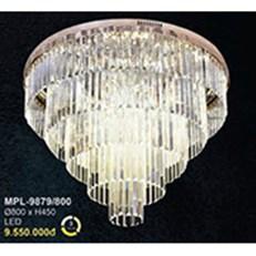 Đèn Mâm Pha Lê BMC2 MPL-9879/800 Ø800xH450