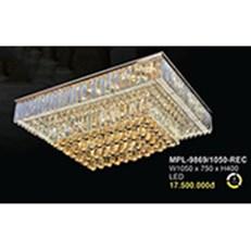 Đèn Mâm Pha Lê BMC2 MPL-9869/1050-REC L1050xW750xH400