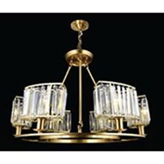 Đèn Chùm Nến Đồng BMC2 CĐ-1167/6 Ø720xH490
