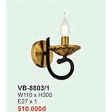 Đèn Tường Cổ Điển BMC2 VB-8803/1 W110xH300