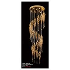 Đèn Thả Pha Lê AU2 6002-25P Ø800xH3500
