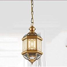 Đèn Thả Đồng Cổ Điển AU2 MZD200 Ø200xH410