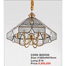 Đèn Thả Đồng Cổ Điển AU2 MZD560 Ø560xH415