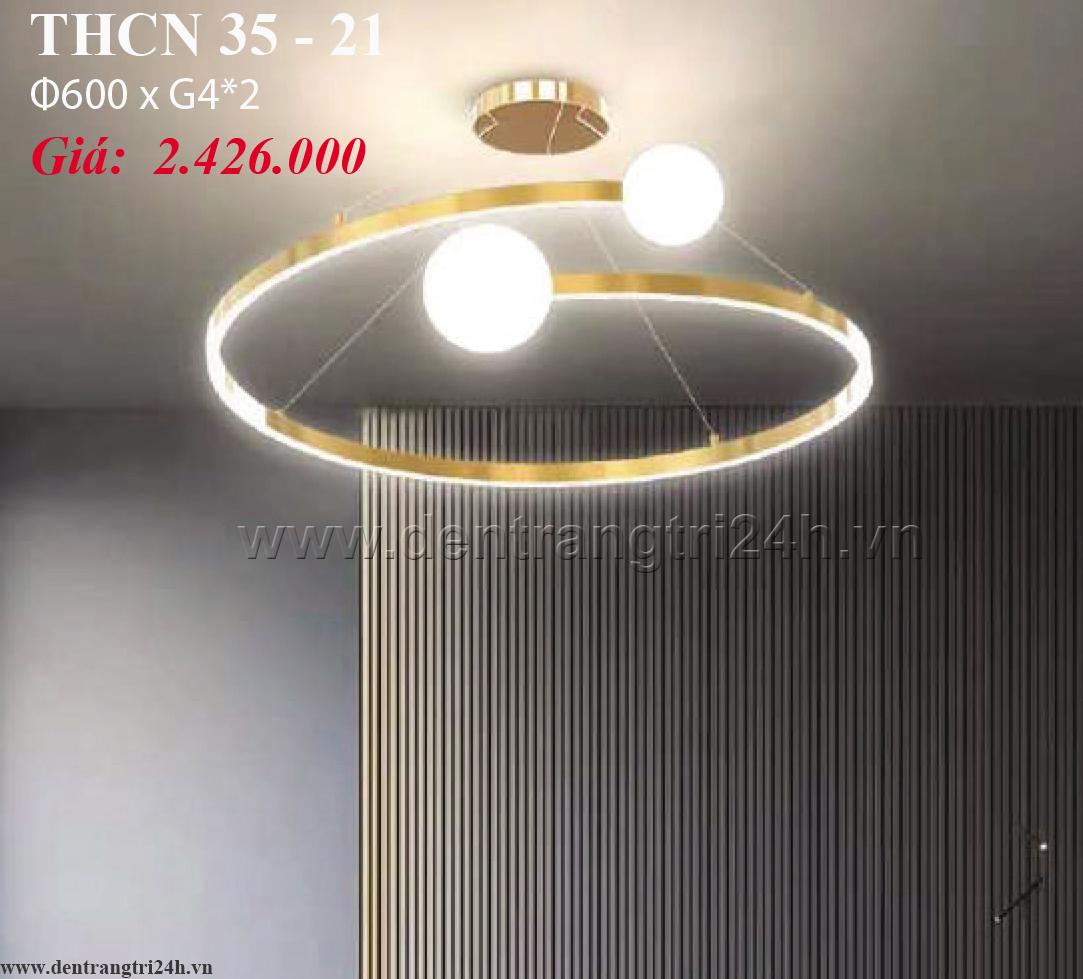 Đèn Chùm Nghệ Thuật PT6 THCN 35-21 Ø600