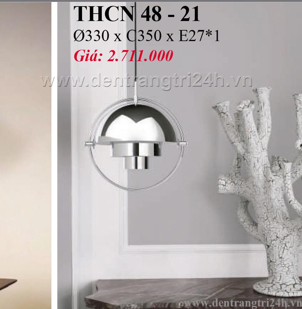 Đèn Thả Bàn Ăn PT6 THCN 48-21 Ø330xC350