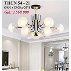 Đèn Chùm Nghệ Thuật PT6 THCN 54-21 Ø850xC400