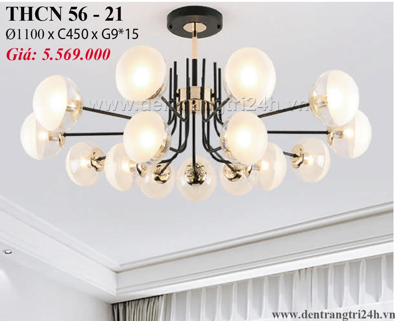 Đèn Chùm Nghệ Thuật PT6 THCN 56-21 Ø1100xC450