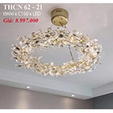 Đèn Chùm Nghệ Thuật PT6 THCN 62-21 Ø800xC150