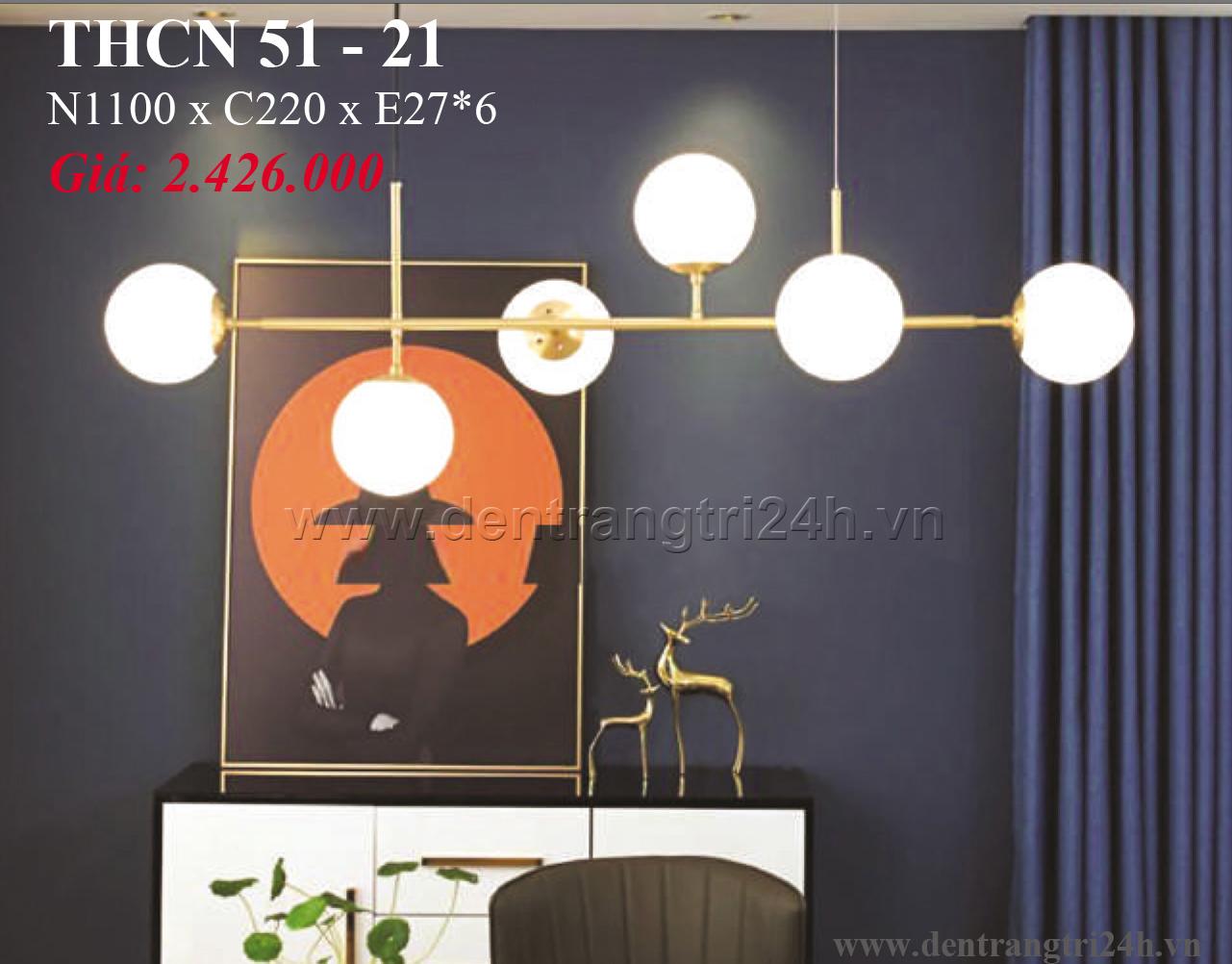 Đèn Chùm Nghệ Thuật PT6 THCN 51-21 N1100xC220