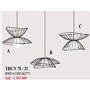 Đèn Thả Bàn Ăn PT6 THCN 78-21 Ø400xC300