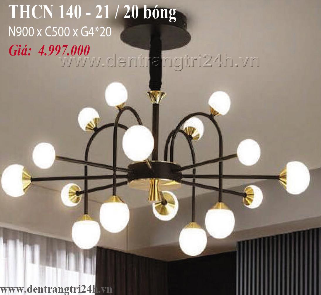 Đèn Chùm Nghệ Thuật PT6 THCN 140-21 N900xC500