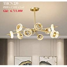 Đèn Chùm Nghệ Thuật PT6 THCN 239 Ø800xC400