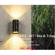 Đèn Vách Ngoại Thất PT6 VNT-667 W60xH150