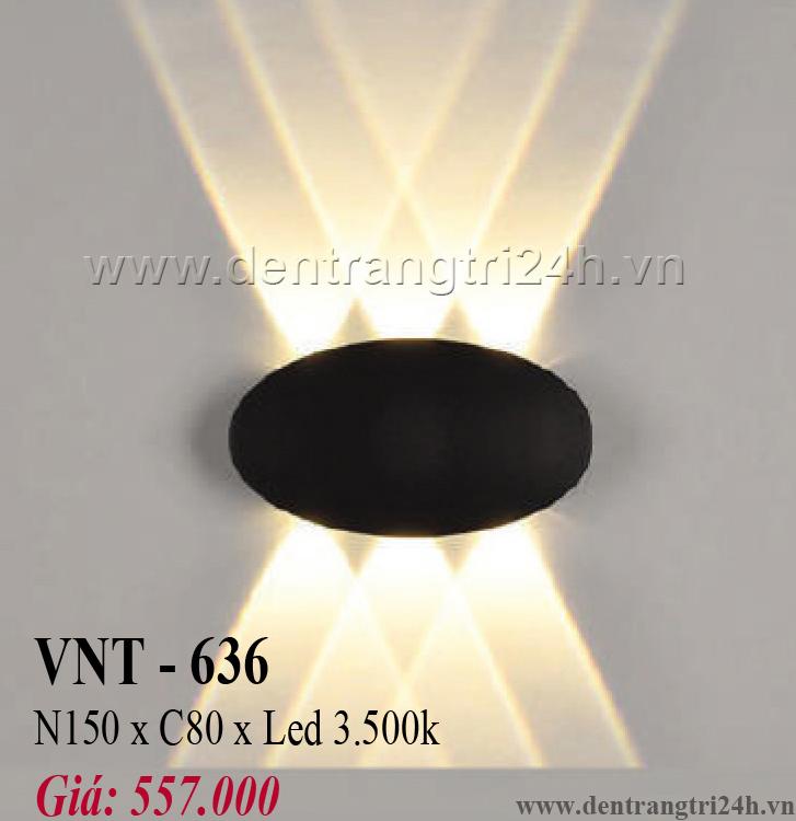 Đèn Vách Ngoại Thất PT6 VNT-636 N150xC80
