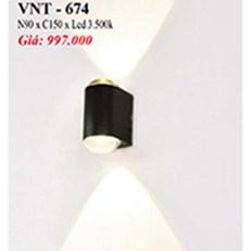 Đèn Vách Ngoại Thất PT6 VNT-674 N90xC150
